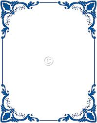 menu border clip art 60