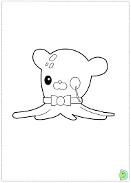 octonauts coloring dinokids org