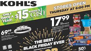 kohl s black friday 2016 predictions bestblackfriday black