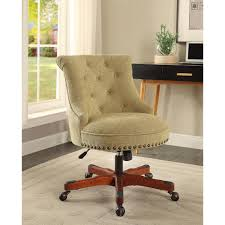 linon home decor sinclair green office chair 178403grn01u the