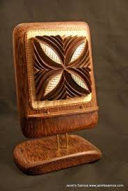 paramount chief seat and motifs2 drift wood wood carving