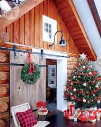 Xmas Decorating Ideas Home Country Home Christmas Decorating Ideas Enhanced By Eco Friendly
