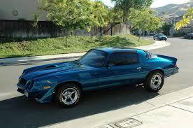 blue 1979 camaro 1979 camaro z28 targa powerforce industries