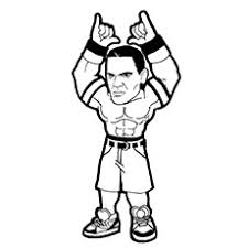 15 free printable john cena coloring pages