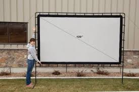 Backyard Projector Portable Screen Top 5 Best Rated Outdoor Movie Screens
