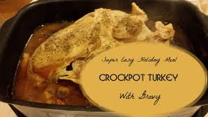 easy crockpot turkey breast recipe great for holidays or anytime