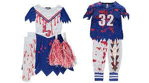 Hazmat Halloween Costume Ebola Hazmat Suits Bloodstained Cheerleaders