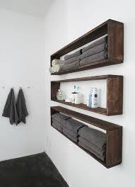 bathroom shelf idea hanging wall shelves ideas home design ideas