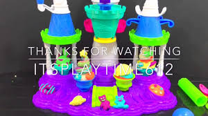 button ice cream cake play doh videos peppa pig crafts for kids