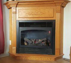 Oak Corner Fireplace by How To Decorate A Corner Fireplace Mantel Google Search