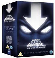avatar airbender complete book 1 2 3 dvd ebay