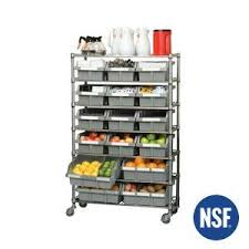 Extra Large Spice Rack Grey Bins For Commercial Bin Rack Extra Large 2 Pack
