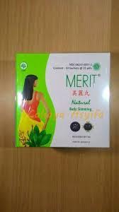 Jamu Pelangsing Merit jual merit asli slimming obat jamu pelangsing tubuh