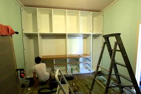 Fitted Bedroom Furniture Diy Time Lapse Built In Wardrobe Construction Youtube