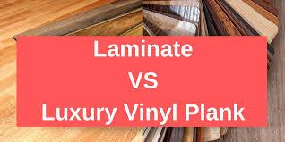 is vinyl flooring better than laminate laminate vs luxury vinyl plank carpet depot