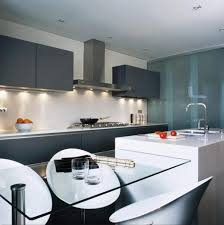 Ultra Modern Kitchen Designs Wonderful Astounding Ultra Modern Long Range Hood Style Kitchen