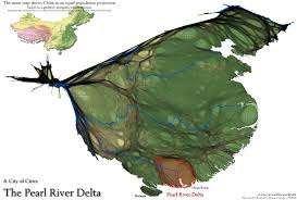 Map Of China And Hong Kong by The Pearl River Delta A City Of Cities Views Of The World