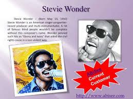 Is Stevie Wonder Blind And Deaf Famous Blind People