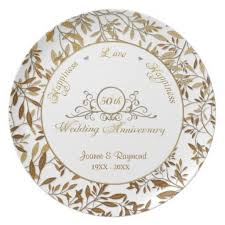 50th wedding anniversary plates 71 best 50th wedding anniversary ideas images on 50th