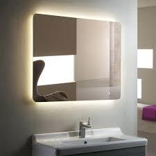wall mirrors lovely idea large illuminated bathroom mirror wide