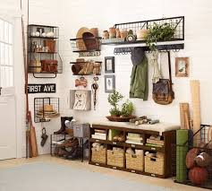 Pottery Barn Entryway Bench And Shelf Kellan Wall Mount Row Of Hooks Pottery Barn Pottery And Barns