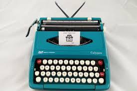 1970 u0027s working smith corona calypso vintage manual typewriter