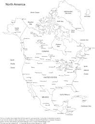 Printable Us State Maps Free Printable Maps by Blank Physical Map Of Us And Canada
