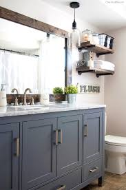 Rustic Farmhouse Bathroom - bathroom pleasing industrial farmhouse bathroom reveal cherished