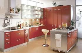 modular kitchen designs with island with small dining home