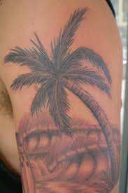 palm tree tattoo images u0026 designs