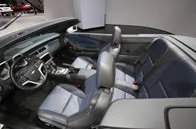 camaro interior 2014 2014 chevrolet camaro convertible look motor trend