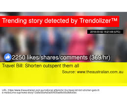 Bill Likes To Travel Be - travel bill shorten outspent them all