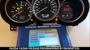 mazda 6 mileage correction enigmatool odometer programmer youtube