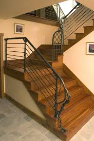 Banister Newel Stairs Glamorous Wrought Iron Hand Railing Iron Handrails For