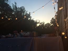 bubble lights backyard party cappello going away party pinterest
