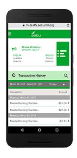 state employees credit union app for android mobile banking apps smartphone and tablet banking secu md
