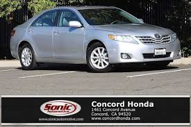 2011 toyota camry colors used 2011 toyota camry xle for sale in concord ca stock mbr171591