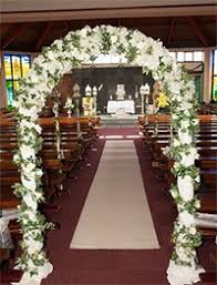 Wedding Arches In Church Wedding Flowers Prices See Our Special Package Deals