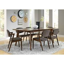 light colored kitchen tables dining room decoration using rectangular solid walnut wood