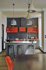 cuisine couleur fin décoration cuisine couleur orange 18 le mans 06140832 dans