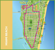 Tourist Map Of San Francisco by Miami Beach Tourist Map