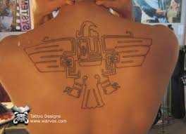 spreading wings tattoo u20aa aztec tattoos u20aa aztec mayan inca tattoo