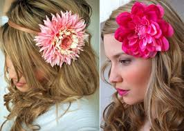 hair flower silk flower hair accessories lushlee