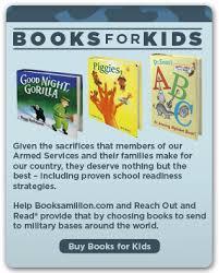 books for troops program books a million