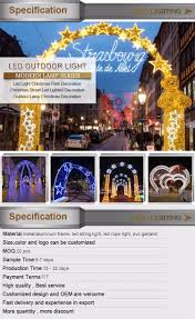 Lighted Snowflakes Outdoor by Outdoor Led Arch Motif Lights Led Christmas Cross Motif Light