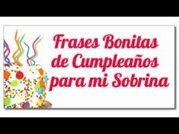 imagenes bellas de cumpleaños para mi sobrina frases bonitas de feliz cumpleaños para mi sobrina youtube