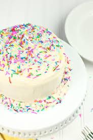 vegan gluten free funfetti birthday cake recipe fun