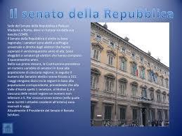 sede presidente della repubblica italiana l ordinamento della repubblica italiana