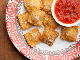 food network thanksgiving appetizers kids recipes deep fried ravioli bites kid food nation