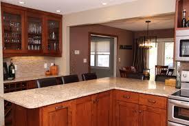 Kitchen Peninsula With Seating by Kitchen Remodel Asterhouse Design Interior Design Studio